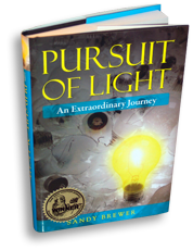 Order Pursuit of Light by Sandy Brewer NOW!